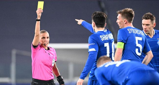 Champions League: Woman Makes Refereeing History As Juve Beat Dynamo Kiev