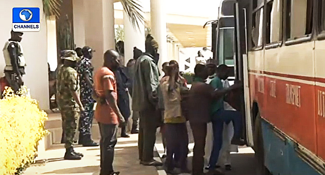 Kankara Schoolboys Leave Govt House, To Undergo Medical Examination