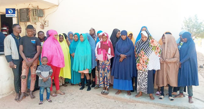 Police Rescue 29 Victims Of Human Trafficking, Arrest Bandits In Katsina