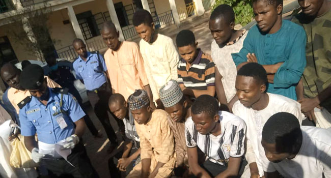 Police Arrest 13 Suspected Armed Robbers, Others In Katsina