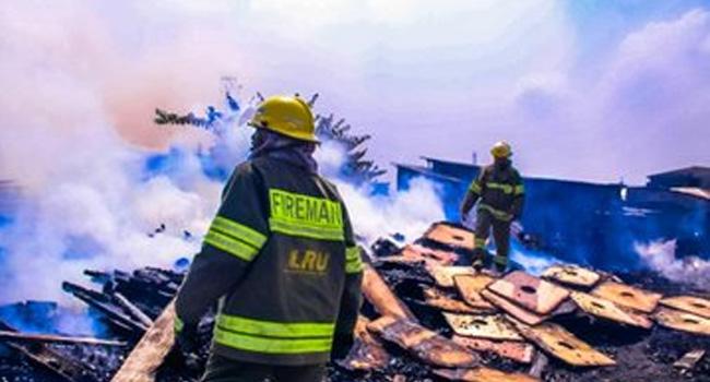 'No Life Lost': LASEMA Says As Fire Guts Ketu Plank Market