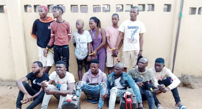 15 Suspected Robbers, Cultists Arrested In Lagos