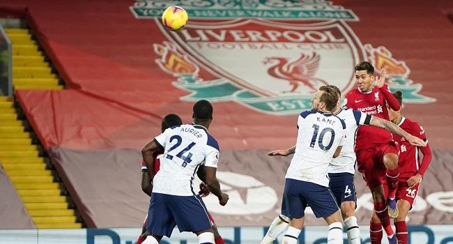 Liverpool Strike Late To Beat Tottenham 2-1 In Premier League