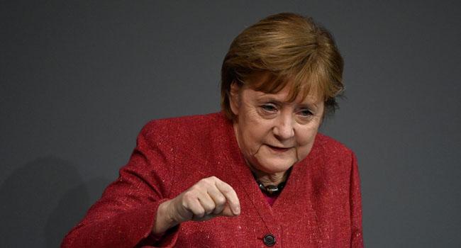 Merkel among European Union leaders questioning Twitter's Trump ban