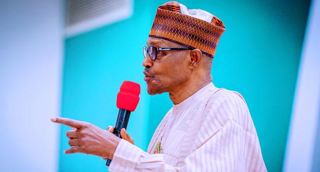 A file photo of President Muhammadu Buhari