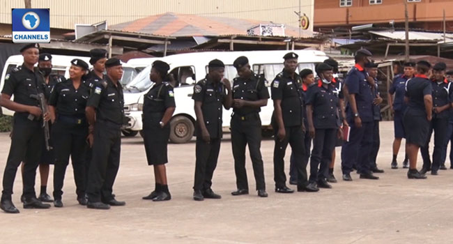 #EndSARS Protest: Police Deploy Officers To Strategic Locations In Ogun State