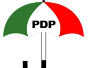 A photo of the Peoples Democratic Party's emblem.