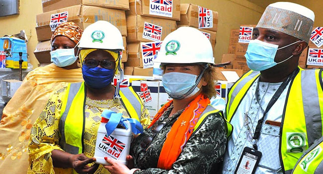 British Govt Donates PPEs To Kaduna State