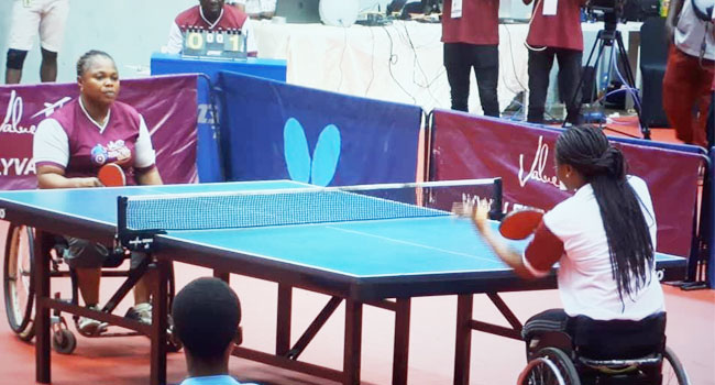 Paralympians Dominate 2nd Para Table Tennis Open In Lagos