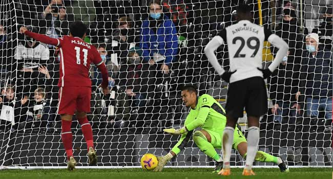 Salah Rescues Liverpool In Fulham Draw