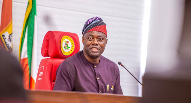 Makinde Donates N2m To Launch Armed Forces Remembrance Day Emblem