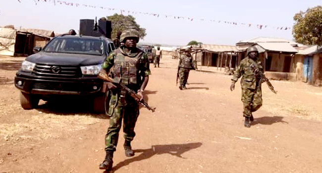Two Locals Die As Soldiers Kill Several Bandits In Kaduna