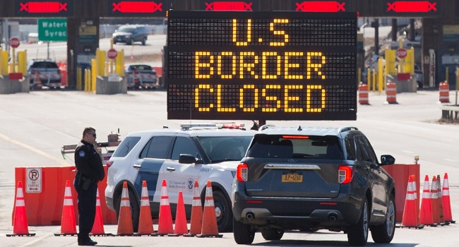 Canada, US Border To Stay Closed Until January 21
