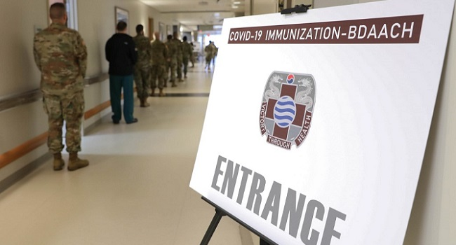 US Begins COVID-19 Vaccinations For Troops In South Korea