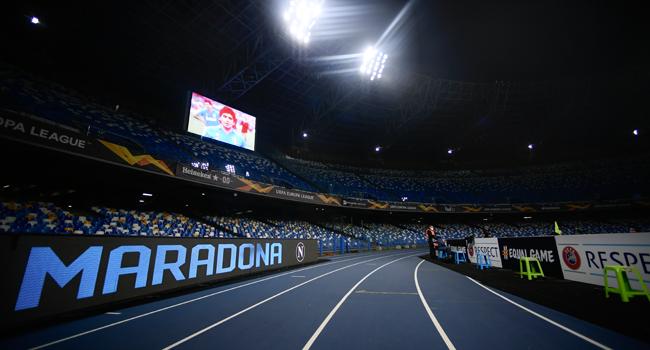 Napoli Renames Stadium After Maradona