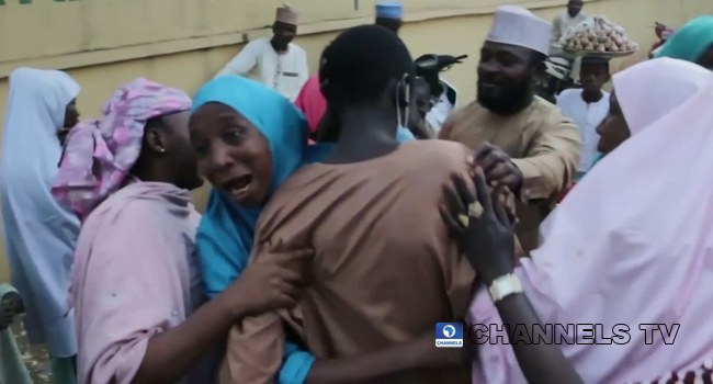 VIDEO: Kankara Boys Reunite With Family