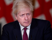 Britain's Prime Minister Boris Johnson attends a virtual press conference inside 10 Downing Street in central London on December 19, 2020. TOBY MELVILLE / POOL / AFP