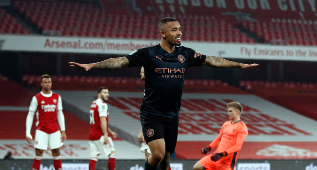 League Cup: Man City Demolish Arsenal To Advance