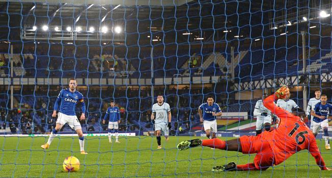 Everton End Chelsea's Unbeaten Run
