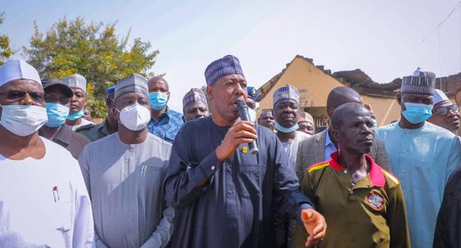 Zulum Visits Attacked Villages In Borno