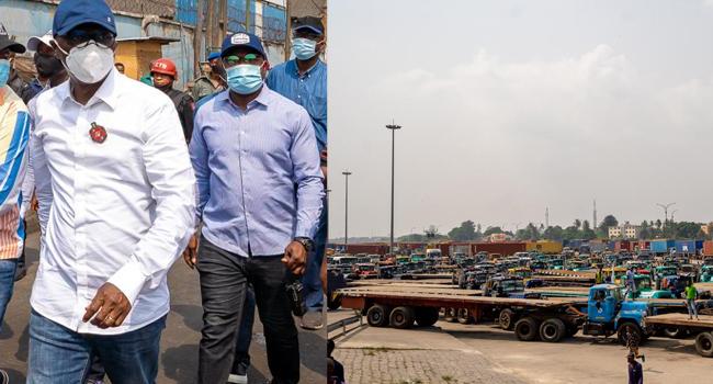 Apapa Gridlock: Lagos Govt To Take Over Traffic Management
