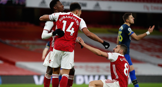 Aubameyang Ends Goal Drought As Arsenal Draw Southampton, Continue Woeful Home Run
