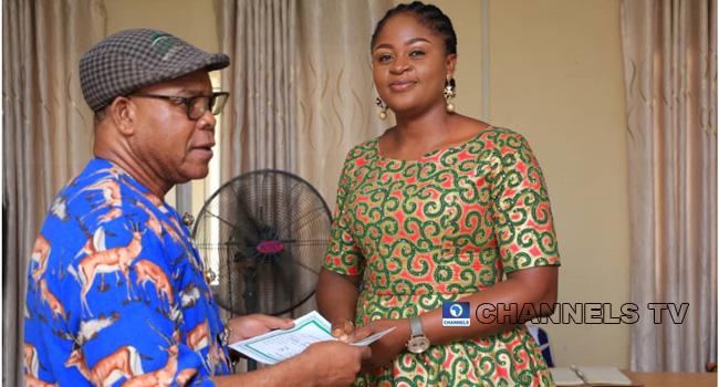 INEC Presents Certificate Of Return To Obudu Constituency Winner