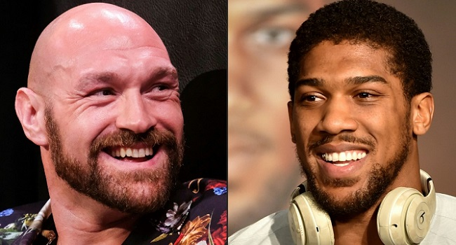 Anthony Joshua gives update on heavyweight fight with Tyson Fury