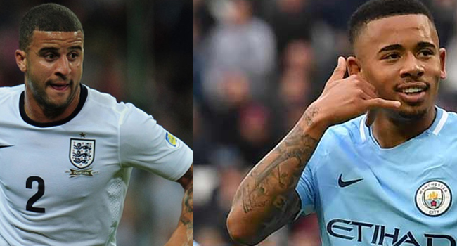 Manchester City Duo Of Gabriel Jesus, Walker Contract COVID-19
