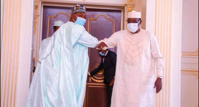 Zulum Meets With Chadian President Over Refugees In Borno