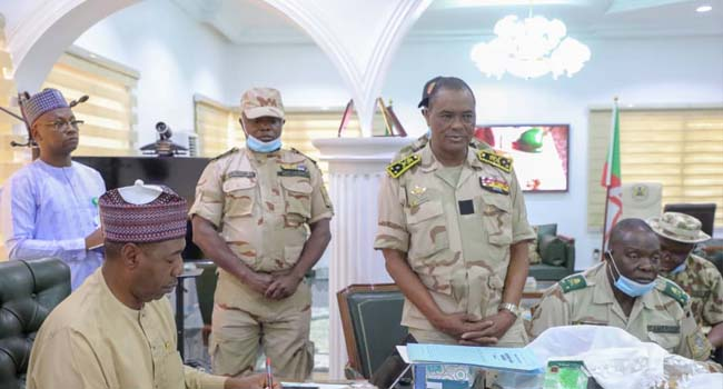 Zulum Receives Cameroon Military Delegates, Harps On Joint Effort To Defeat Insurgency