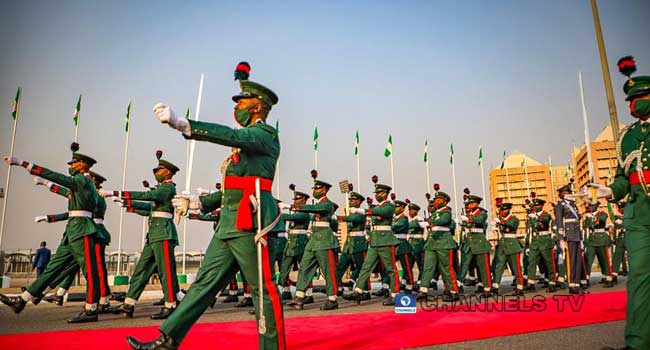 Nigeria Holds Armed Forces Remembrance Day Celebration