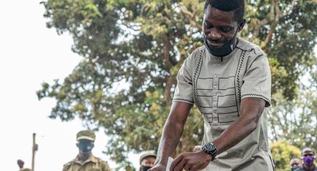 Uganda's Bobi Wine Claims He Won Election 'By Far'