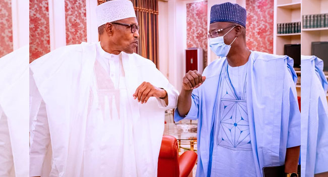 Governor Sule Visits Buhari, Raises Alarm Over Boko Haram Activities In Nasarawa