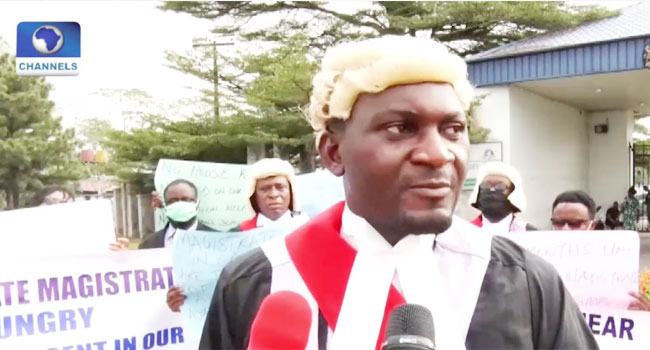 'Dialogue With Govt Has Failed': Cross River Magistrates Protest Non-Payment Of Salaries