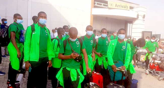 Golden Eaglets Depart Nigeria For WAFU B U-17 Tournament