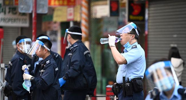 Hong Kong Imposes Two-Day COVID-19 Lockdown