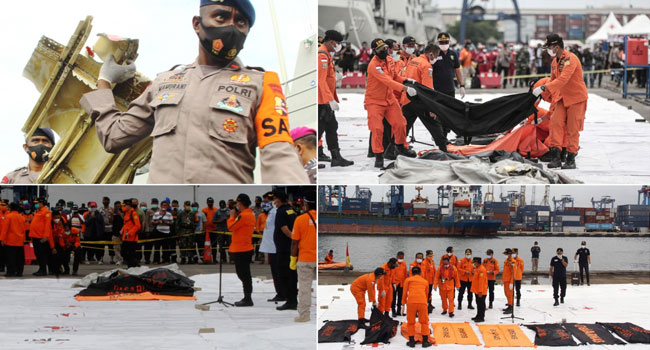 Officials Find Body Parts At Indonesian Plane Crash Site