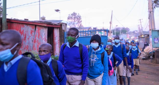 Kenya Reopens Schools After 10-Month Virus Closure