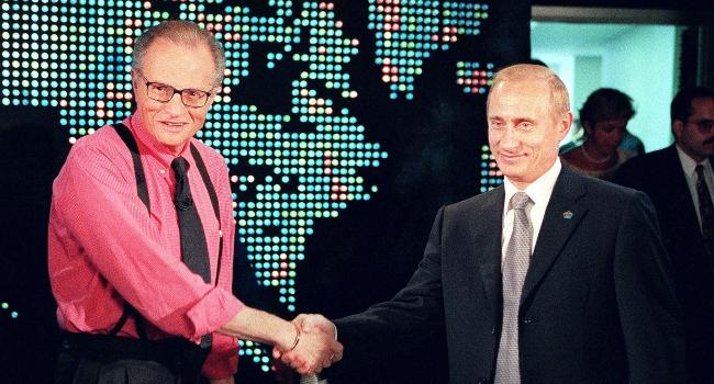 Putin Hails Larry King's 'Great Professionalism'
