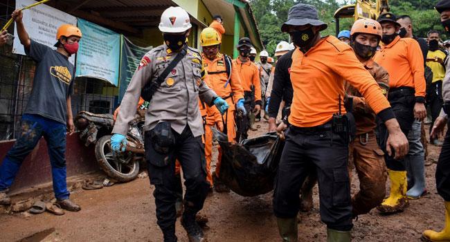 Indonesia Landslides Kill At Least 11, Scores Missing