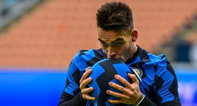 Lautaro Hat-Trick Sends Six-Goal Inter Milan Top Of Serie A
