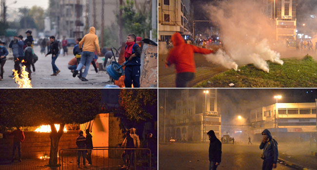 Scores Injured In Third Night Of Clashes In Lebanon's Tripoli