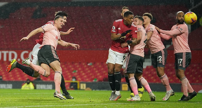 Man Utd Title Hopes Hit By Sheffield United Defeat