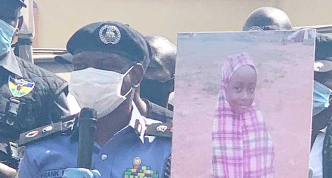 Police Parade Suspects Accused Of Kidnapping, Killing Eight-Year-Old Girl