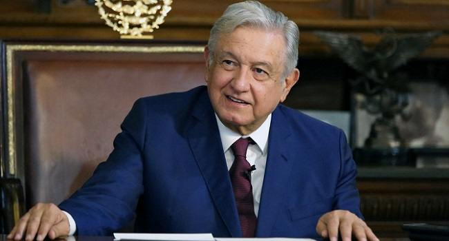 Mexican President Obrador Recovers From COVID-19