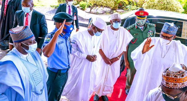 President Buhari Arrives In Daura For APC Membership Registration