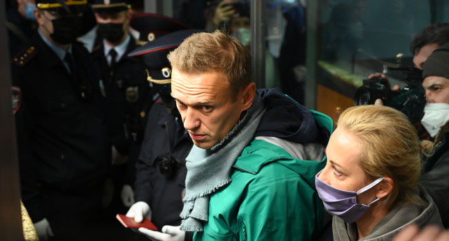 Russia's Navalny Goes On Trial On Slander Charges