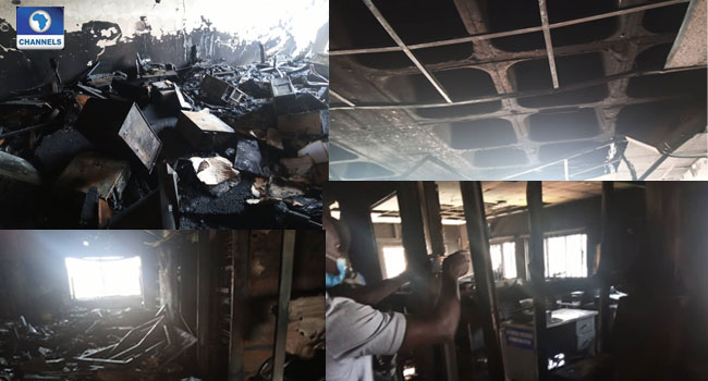 Nigeria Immigration Commences Investigation Into Cause Of Fire Outbreak