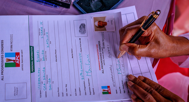 President Buhari Renews Pledge To APC